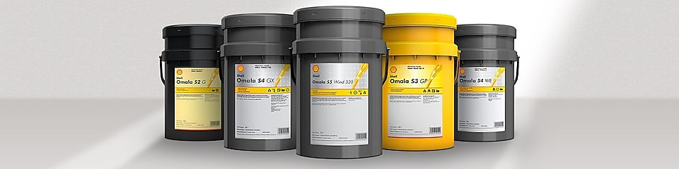 Shell Omala - Gear oils