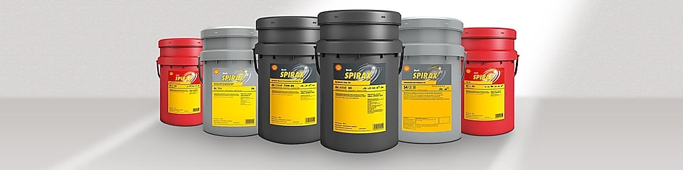 Shell Spirax diesel range of packages