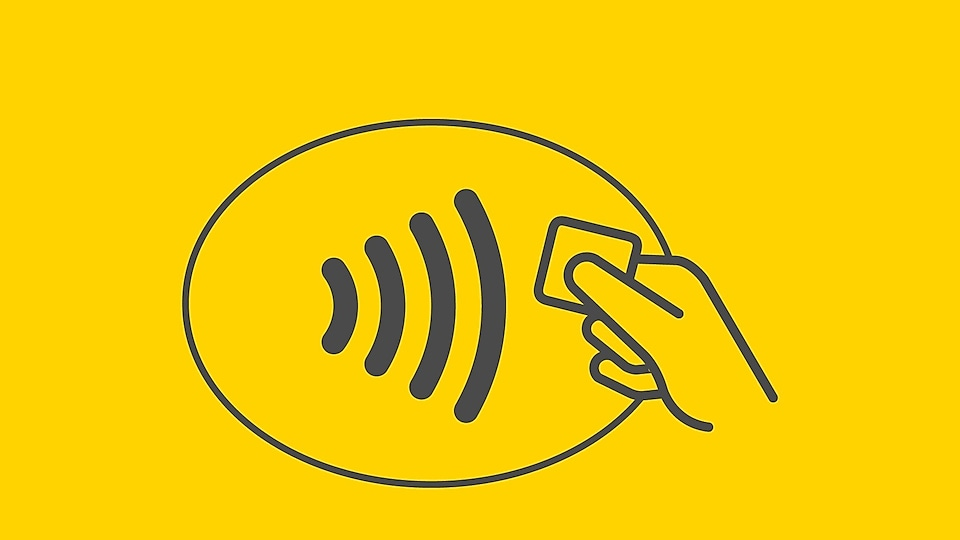 Now accepting contactless cards