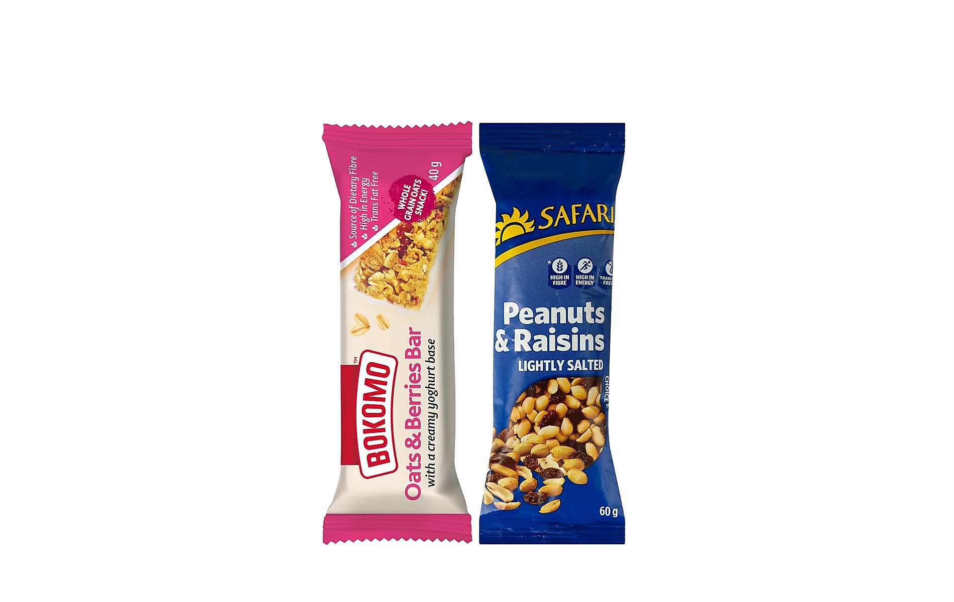 Bokomo And Safari Healthy Snacks
