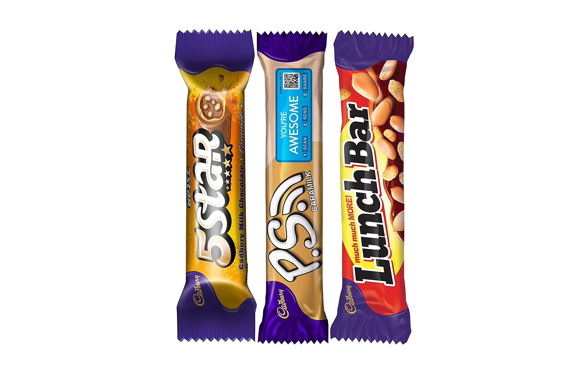 Mix N' Match Any 3 Cadbury Chocolates Bars