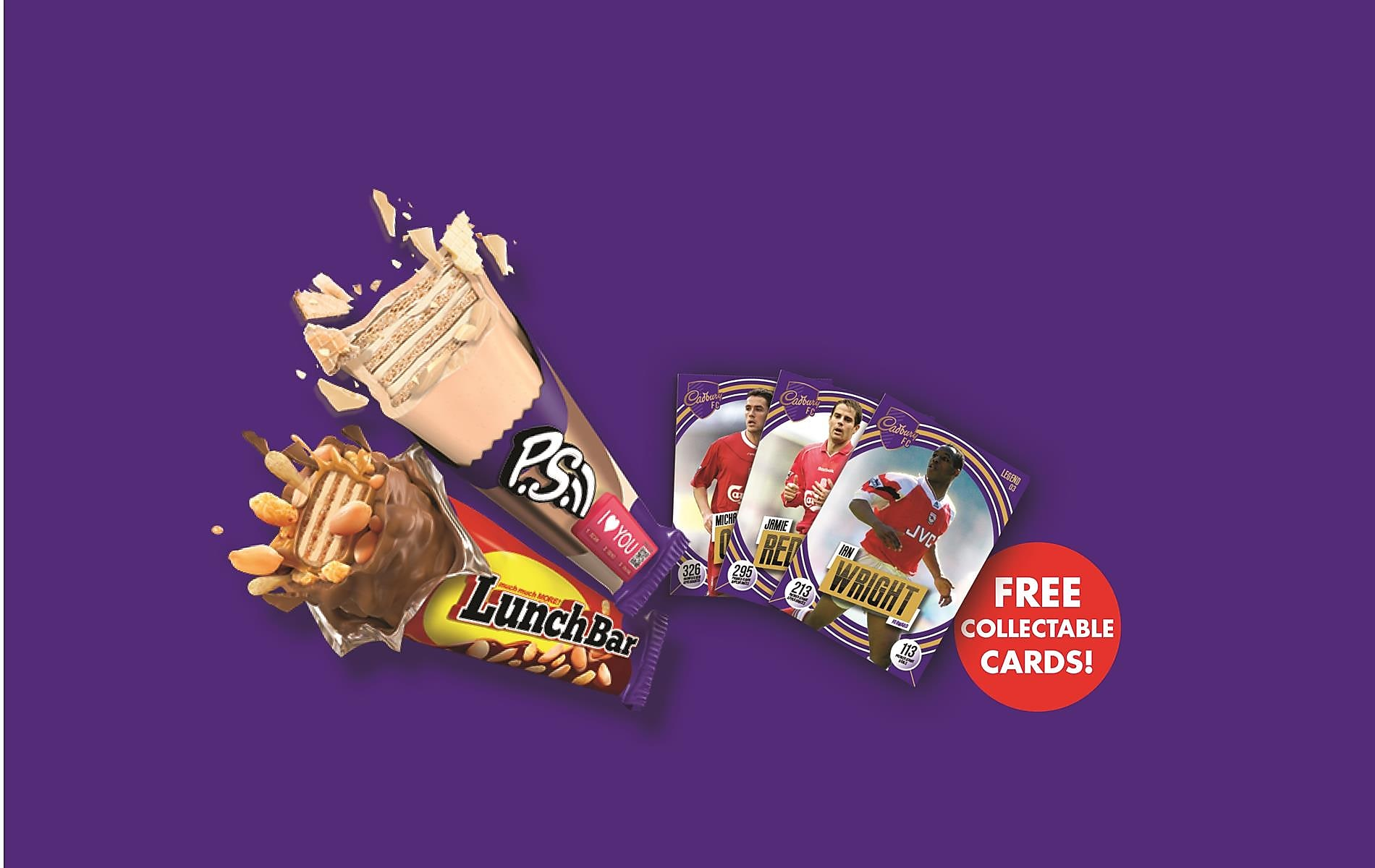 Buy Us And Get A Free Pack Of Collectable Cards