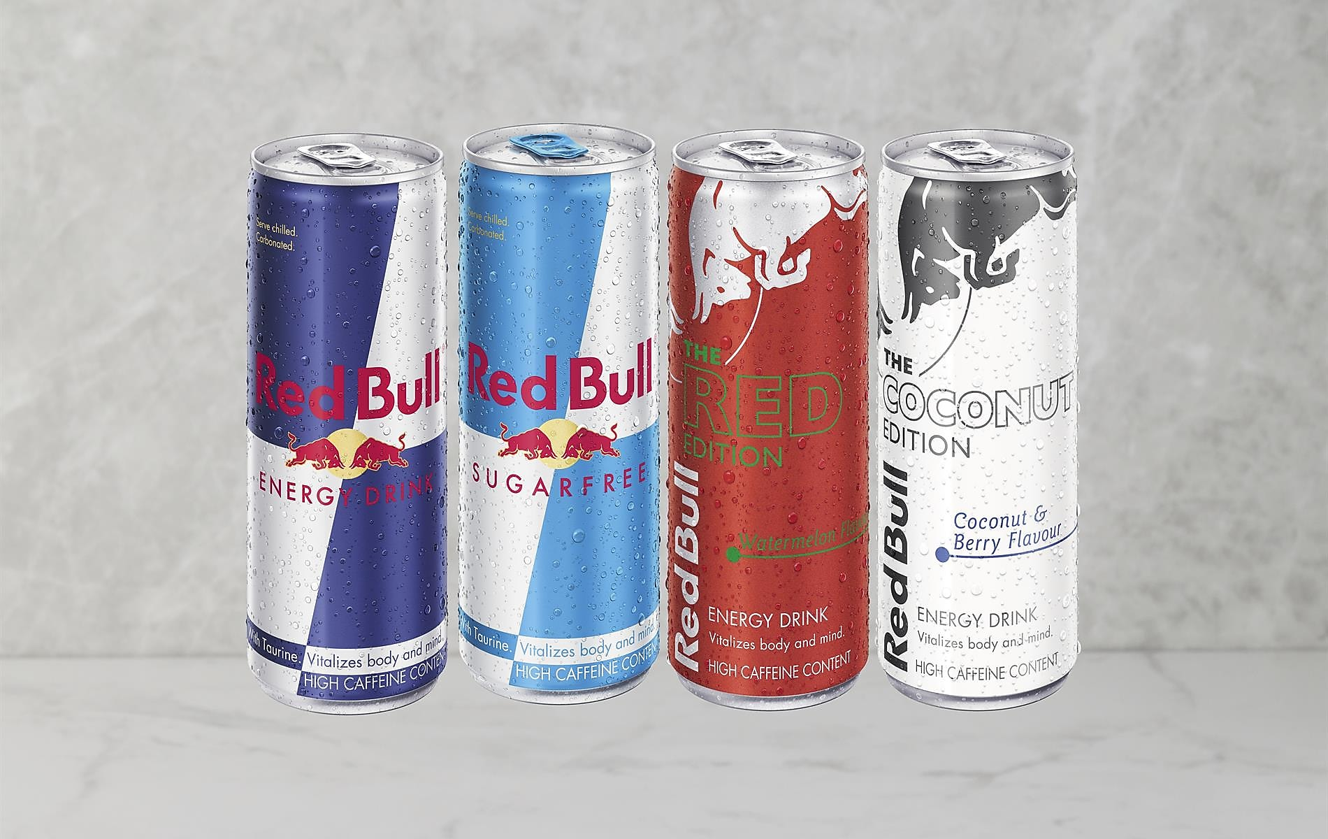 Mix N' Match With Redbull Energy Drinks