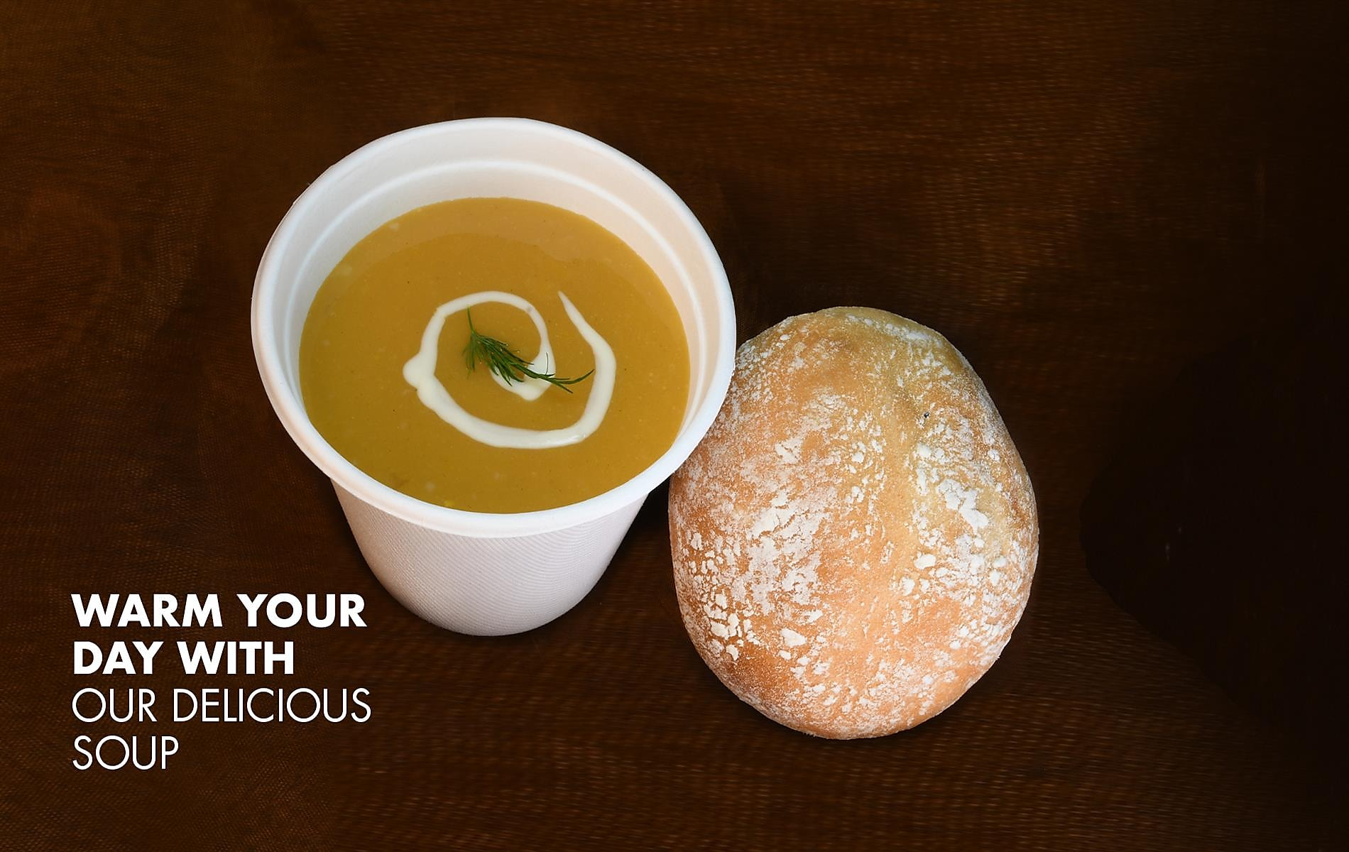 Warm Your Day With Our Delicious Soup