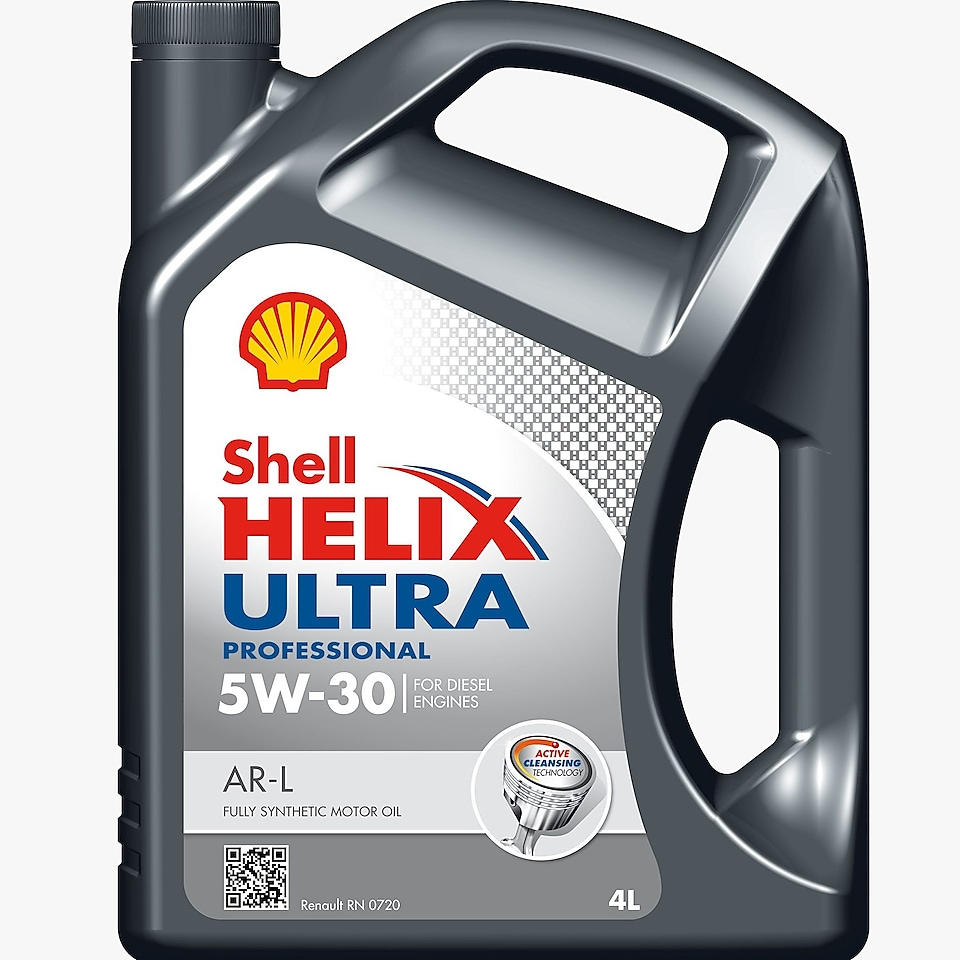 Shell Helix Ultra product packshort